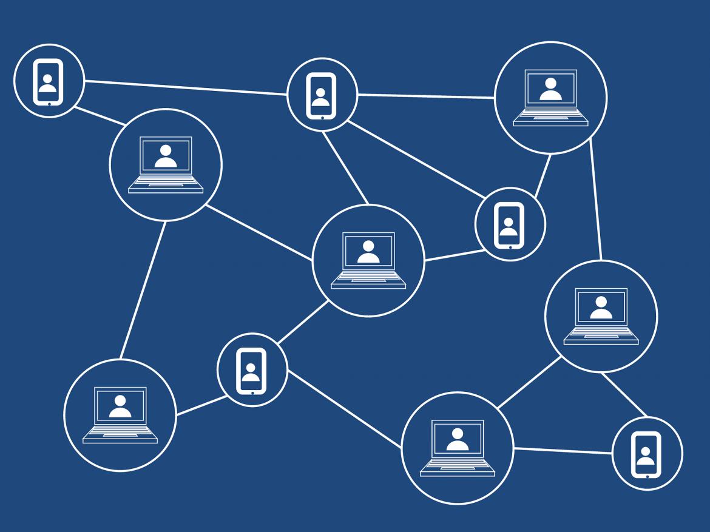 Besitz von Kryptowährungen: Ein Netz von Computern zum Handeln, Minen und Tauschen