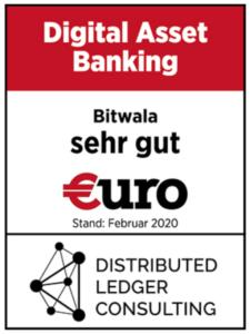 "Digital Asset Banking Award ""sehr gut"" (Euro Magazin)"