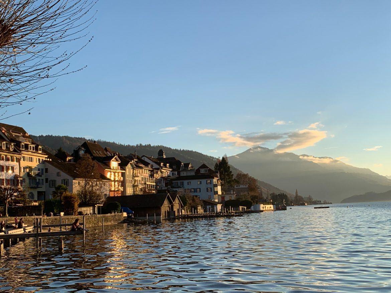Altstadt von Zug, Schweiz