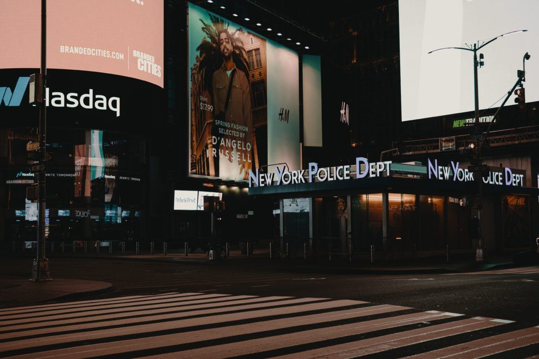 Nasdaq New York Time Square