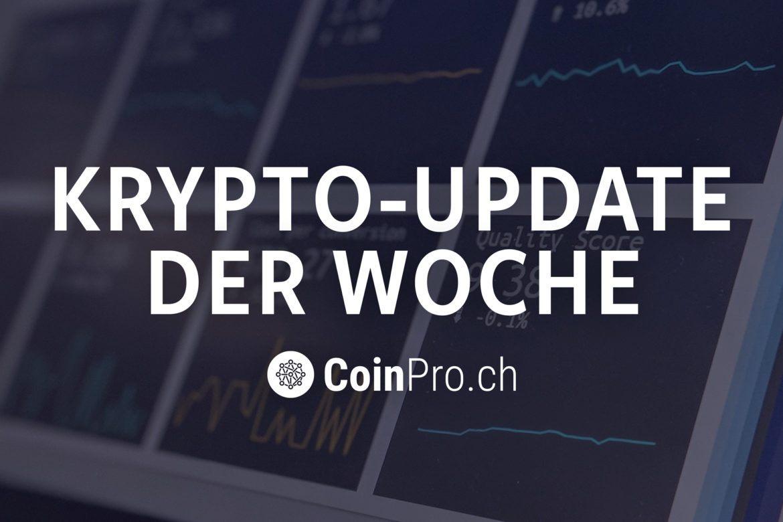 Logo Krypto-Update von CoinPro.ch
