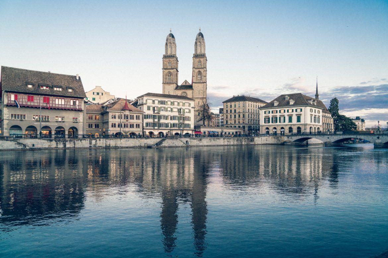 Skyline von Zürich