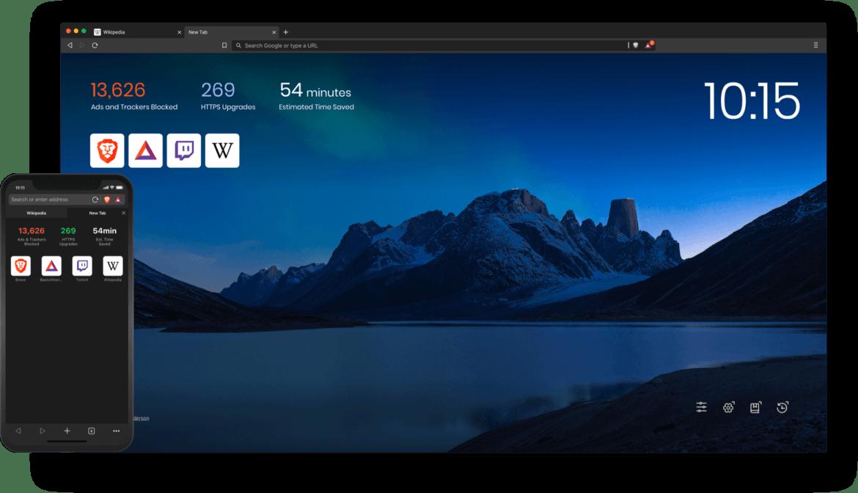 Screenshot Brave Browser