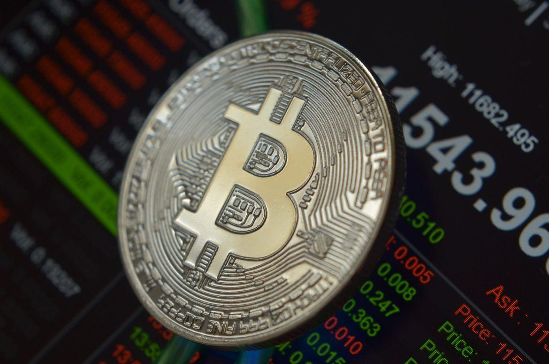 Bitcoin vor einem Kursverlauf