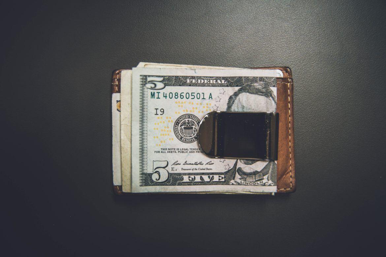 Geldklammer als Wertspeicher
