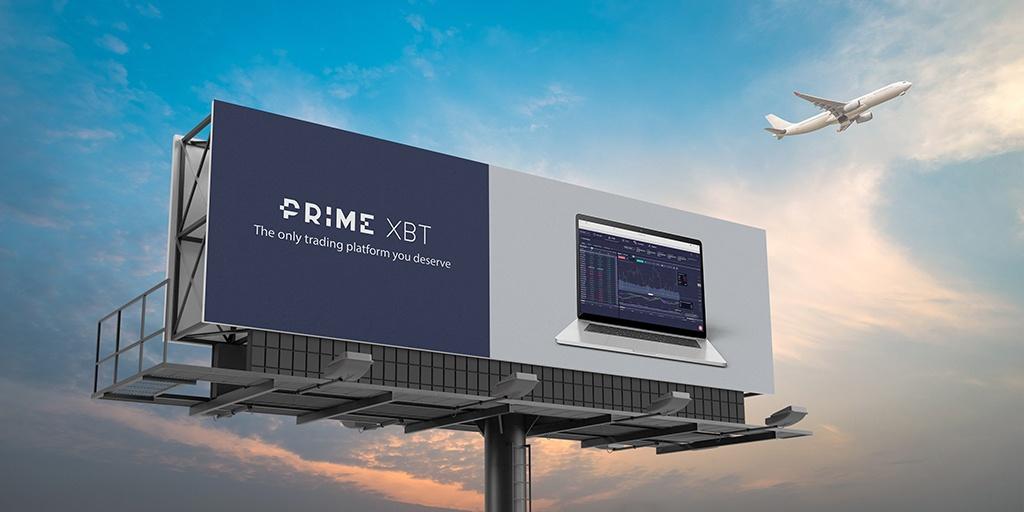 Prime XBT Werbetafel