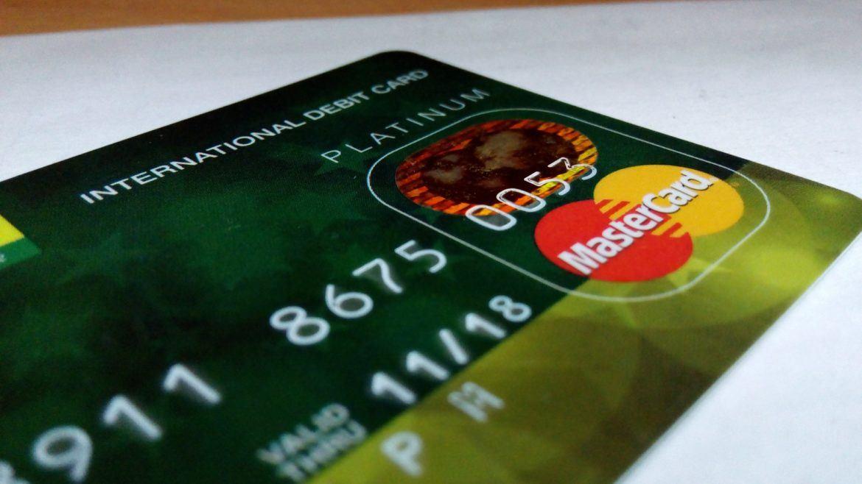 Abbildung einer Mastercard Kreditkarte