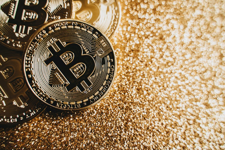 Abbildung Bitcoin als Symbol für Invest von Square