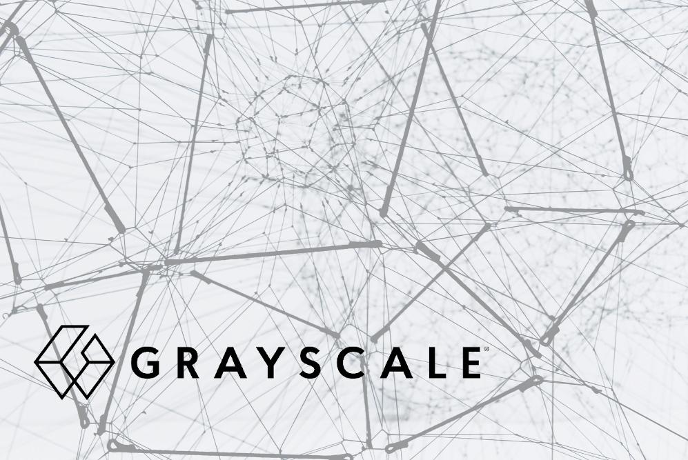 Logo von Grayscale vor Symbol für Netzwerk