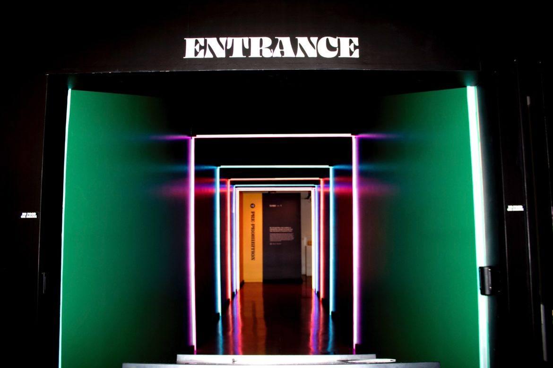 Eingang zu einem geschlossenen Raum