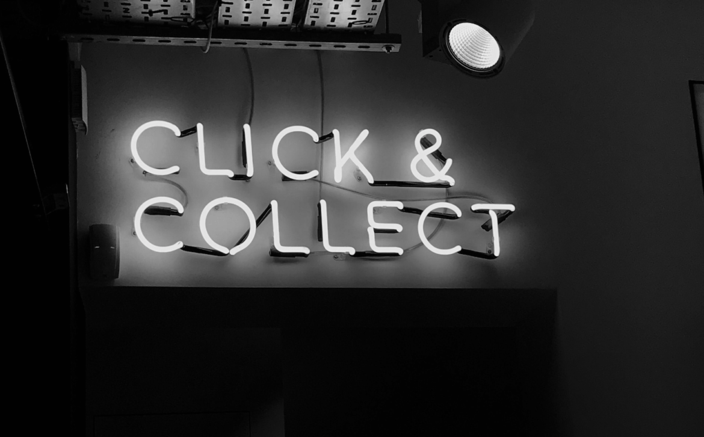 Leuchtreklame aus London