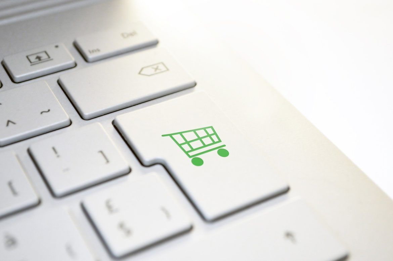 Einkaufswagen Symbol Onlineshop
