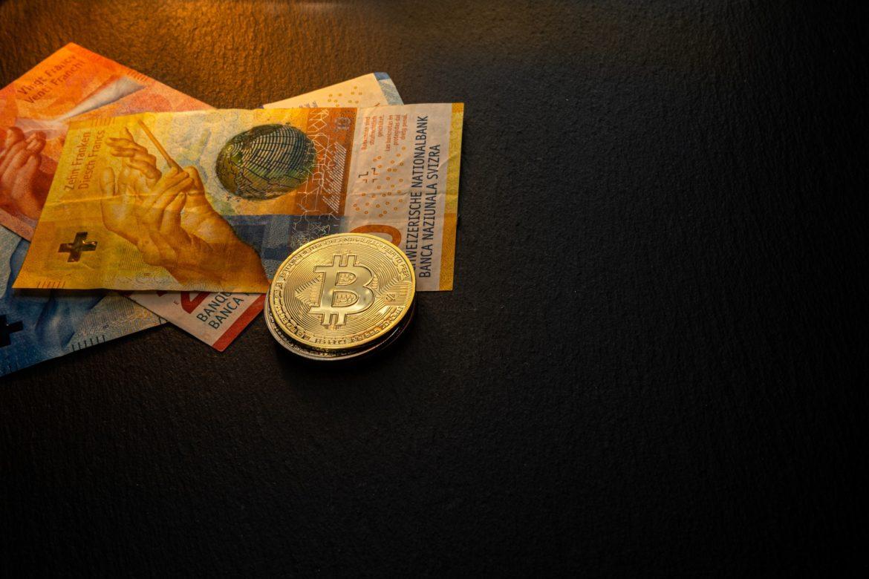 Bitcoin und Schweizer Franken Abbildung