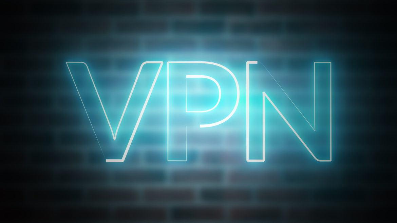 VPN als Projektion an eine Wand