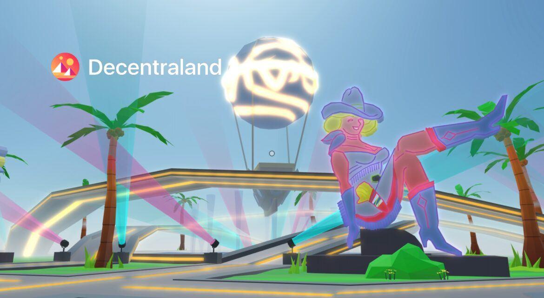 Screenshot von Decentraland