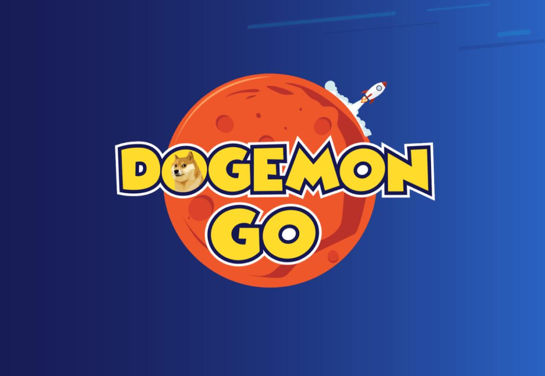 Logo von Dogemon Go - ein Mobile Game, wo man Dogecoin erspielen kann