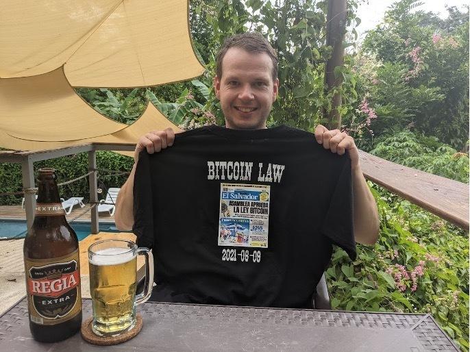 Mein neues T-Shirt (Bitcoin Law, Quelle: Ralph Hofacker)